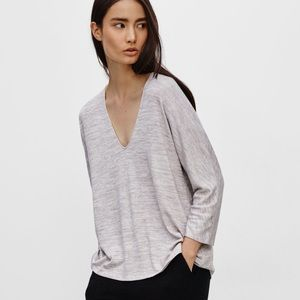 ARITZIA WILFRED Aneta T Shirt Light Purple
